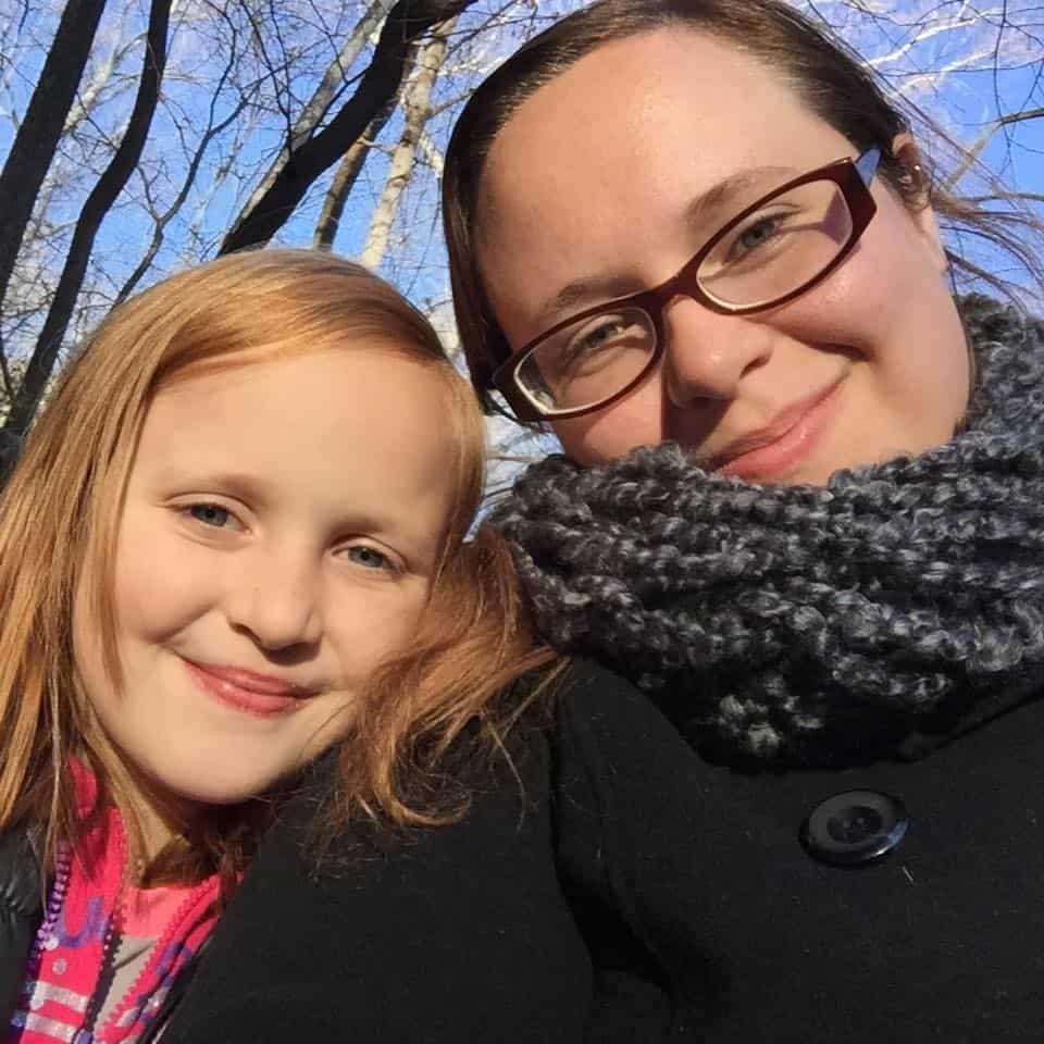 sarah and brooklyn outside
