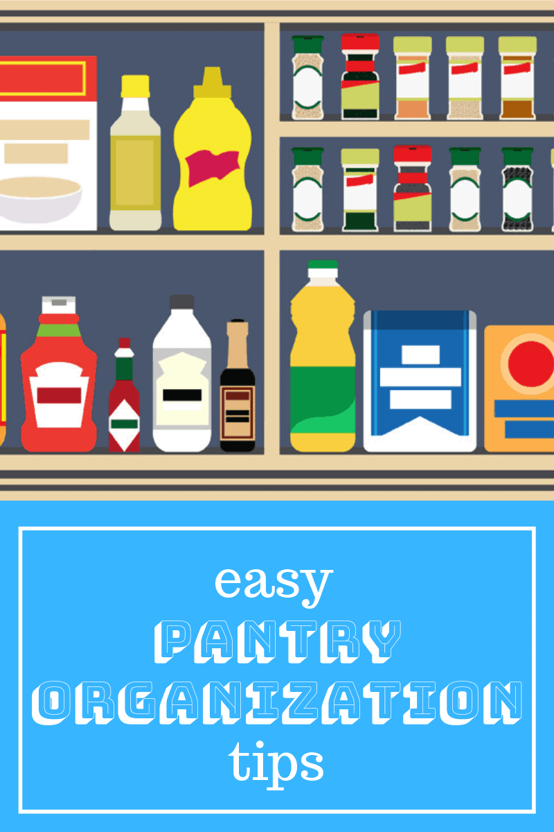 Organization Ideas for the Home. Easy Pantry Organization Tips.
