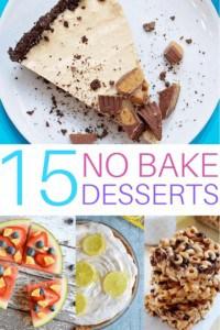 15 Easy No-Bake Desserts
