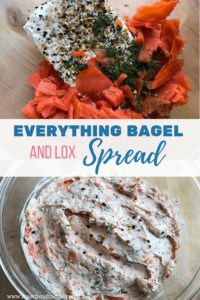 Everything Bagel and Lox Spread