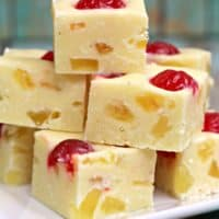 Pineapple Upside Down Fudge