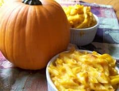 Pumpkin Macaroni & Cheese Recipe