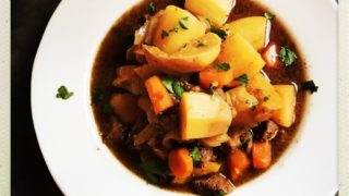 Beef, Beer and Pumpkin Stew