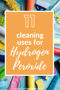 DIY Household Cleaner: Hydrogen Peroxide