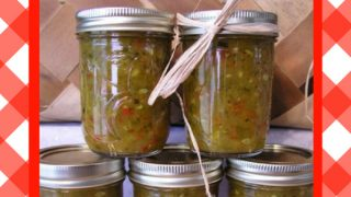 Make Your Own Zucchini Relish