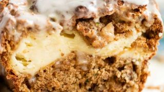 Best Ever Zucchini Bread with Cream Cheese