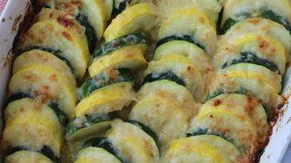 Parmesan Zucchini Casserole