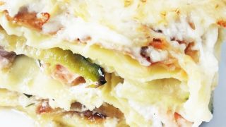 Salmon Zucchini Lasagna