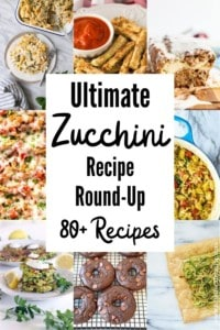 Ultimate Zucchini Recipe Round-Up