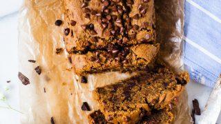 Healthy Zucchini Bread (Gluten free + Vegan)