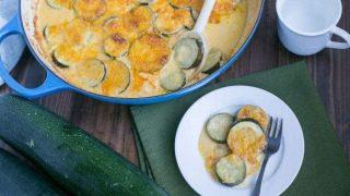 Easy Zucchini Gratin Recipe (Keto, Gluten-Free)