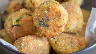 Cheesy Zucchini Bites