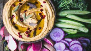 Pumpkin Sage Hummus | Crowded Kitchen