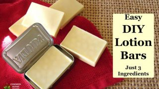 Lotion Bar Recipe - Easy to Make with Just 3 Ingredients!