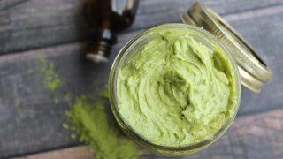 Peppermint and Matcha Green Tea Body Butter