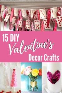 15 DIY Valentine's Decor Crafts