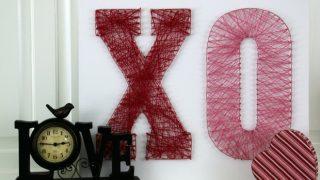 Valentine's String Art