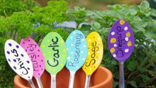 Easy DIY Garden Markers Spoons