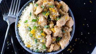 Instant Pot Sesame Orange Chicken