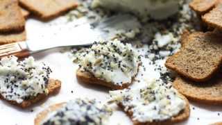 Everything Bagel Goat Cheese